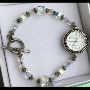 Vintage crystal watch